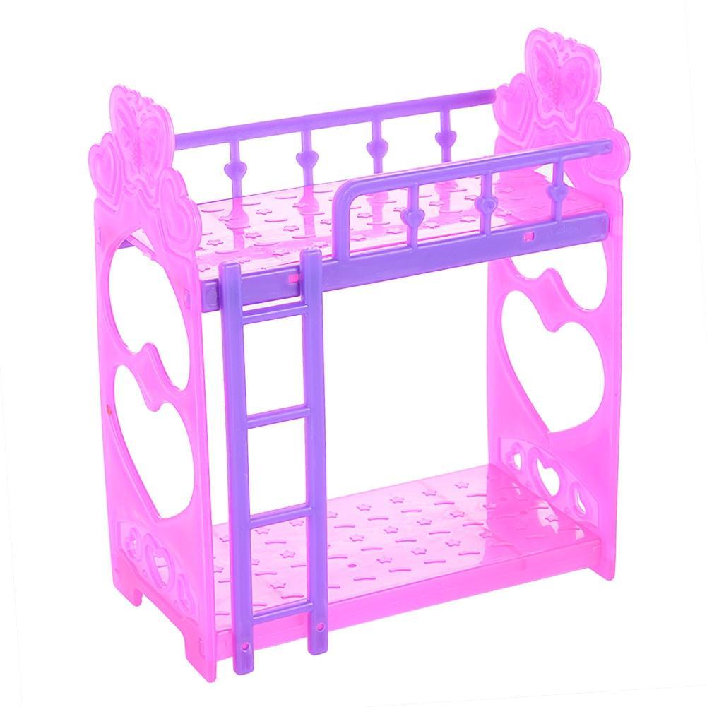 LeadingStar plástico cama doble marco para la muñeca Barbie Kelly ...