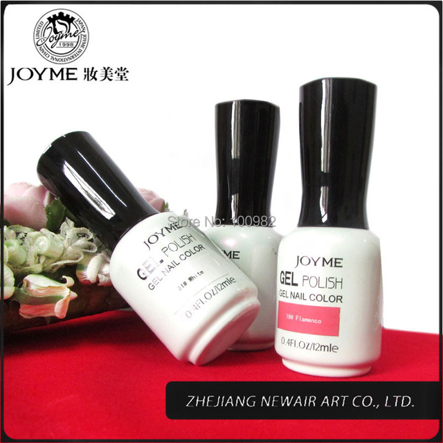 Brand new professional soak off white gel nail polish 12ml 43 color ...