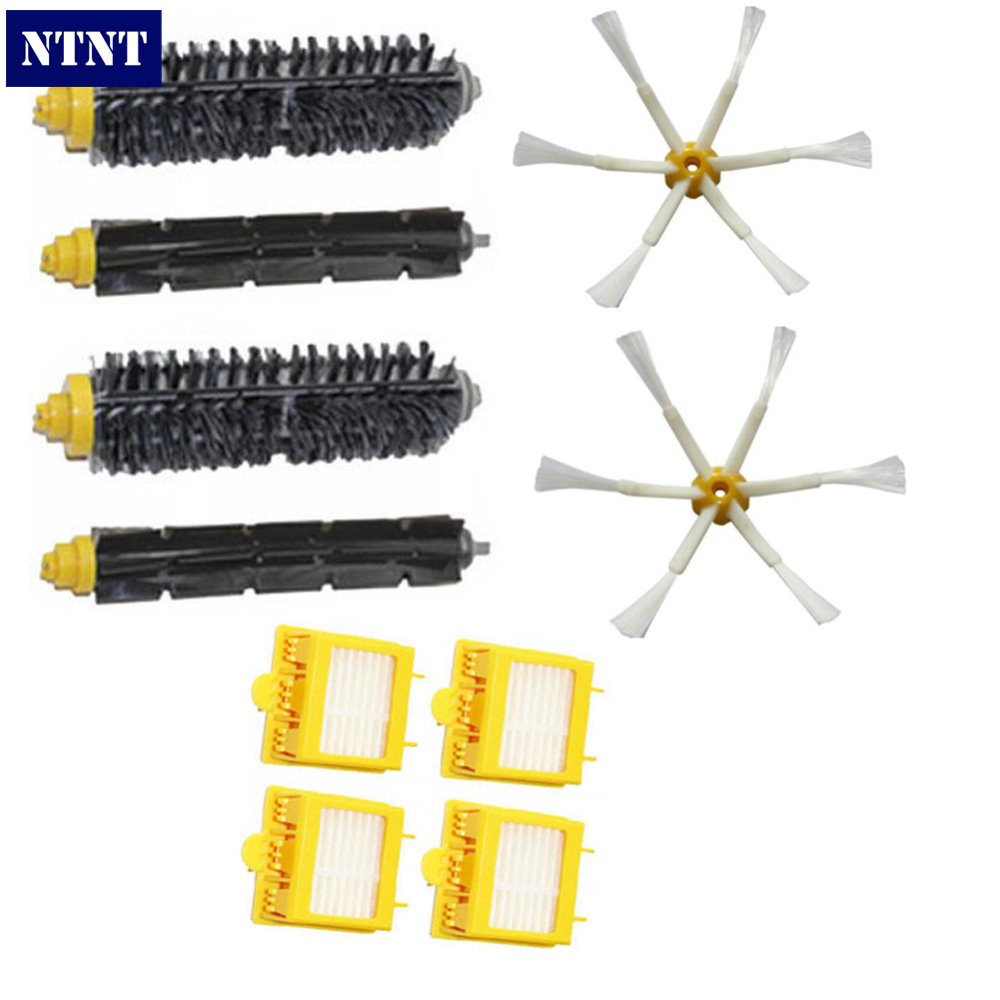 NTNT Free Post New Filters&Brush Pack Big Kit 6 Armed For iRobot Roomba 700 Series 760 770 780 bristle brush flexible beater brush fit for irobot roomba 500 600 700 series 550 650 660 760 770 780 790 vacuum cleaner parts