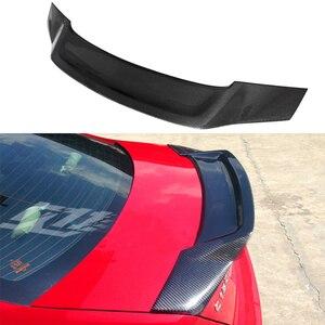 Image 4 - W204 4 portas de fibra de carbono renntech estilo automotivo, asa do porta traseira do carro para mercedes benz w204 2007 2014