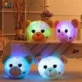 Светящиеся световой свет игрушки медведь лягушка cat чучело обезьяны плюшевые игрушки куклы подушка подушка подарок на день рождения кукла Triver Игрушки