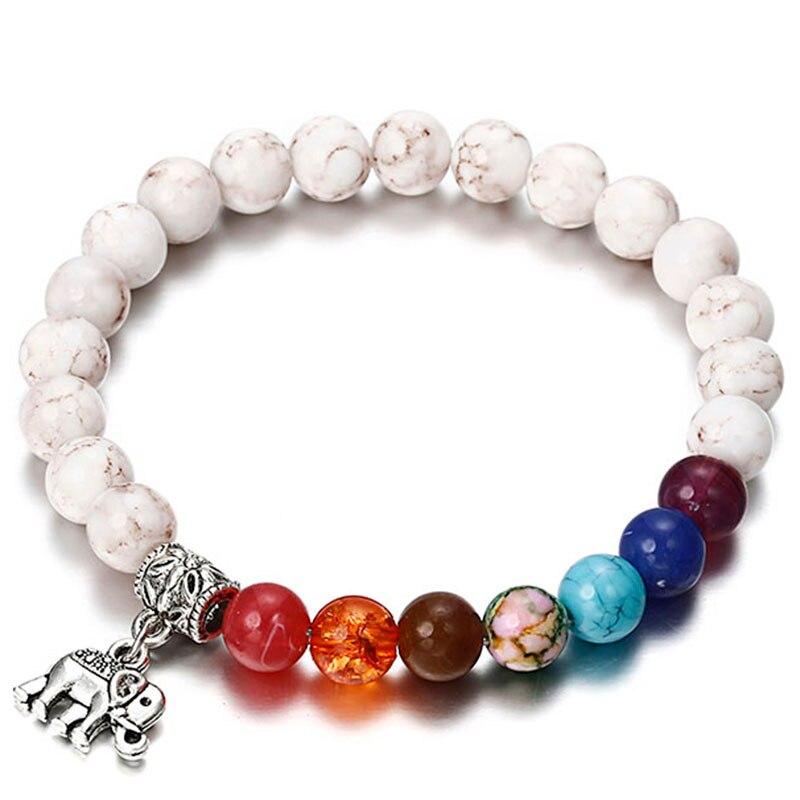 Strand Bracelets 2018 Drop Shipping Newst 7 Chakra Bracelet Men Black Lava Healing Balance Beads Buddha Prayer Natural Stone Yoga Bracelet Comfortable And Easy To Wear