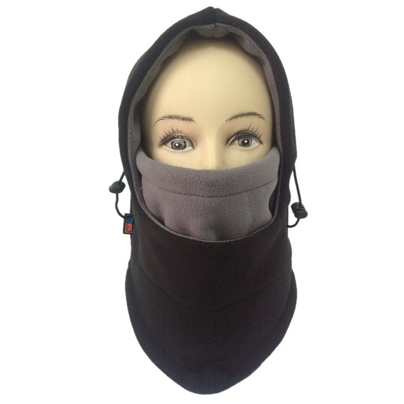 Winter Warm Fleece Beanies Hat for men skull bandana neck warmer balaclava Warm windproof face mask Soft Special Forces Mask sahoo 46864 3 in 1 outdoor cycling warm polyester fleece hat face cover for men black xl