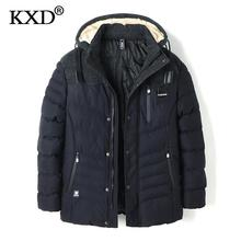 KXD Men Parkas 2017 New Arrival Brand Winter Jacket Men Fashion Thick Slim Casual Coat High Quality Parkas Hombre Invierno  8650