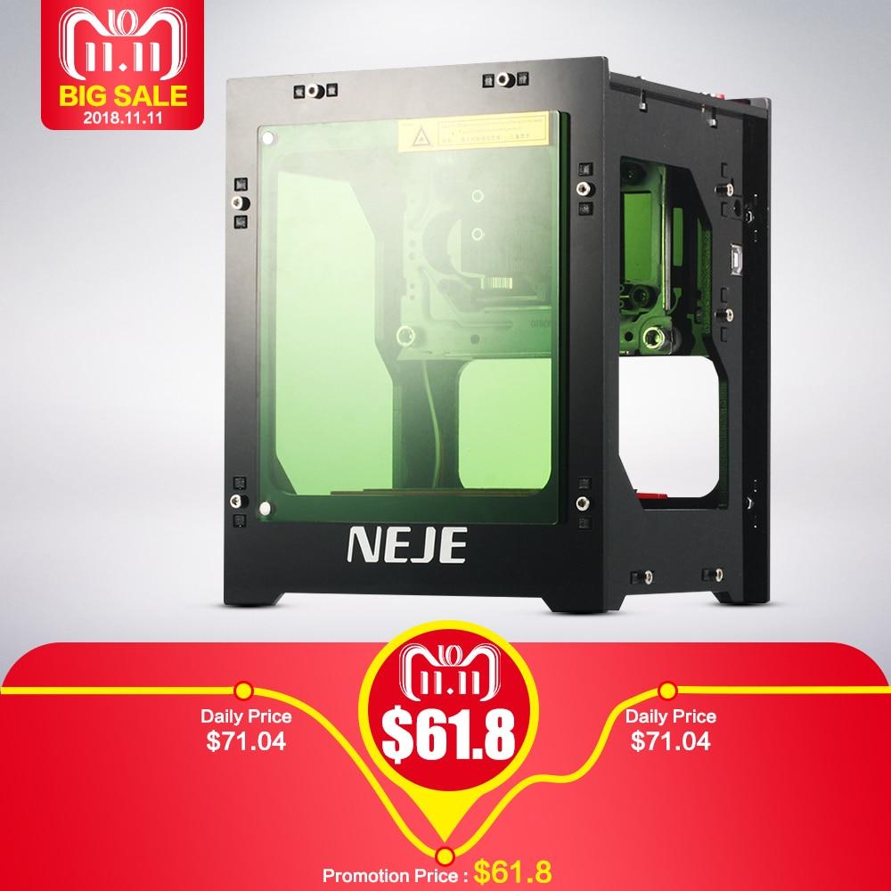 NEJE 1000 mw Cnc Laser Cutter Mini Laser Graveermachine voor VIP 2
