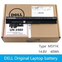 Original Laptop battery For DELL Vostro 3451 3458 3551 3558 V3458 V3451 N3558 N5558 WKRJ2 GXVJ3 HD4J0 K185W M5Y1K 14.8V 40WH