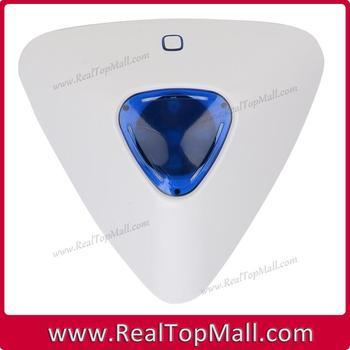 433MHz new design wireless indoor strobe siren, mini indoor siren for wifi gsm alarm systems G90B