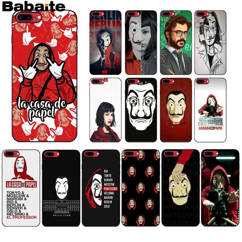 coque iphone xs max la casa de papel