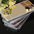 Зеркало case Мягкие TPU Задняя Крышка Для Samsung Galaxy A5 A7 A8 A310 A510 2016 J1, J5 J7 S3 S4 S5 S6 S7 Край Grand Prime Телефон Случаях