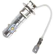 500LM H3 25W LED Bulb High Power Ultra Bright White Fog Light Car Fog Lamp Light