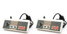 2 adet denetleyici Nintendo eğlence sistemi NES