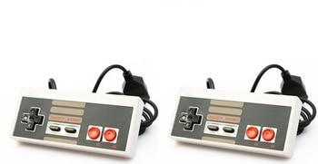 2 sztuk kontrolera dla Nintendo System rozrywki NES
