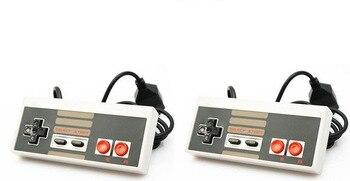 Controlador 2 piezas para sistema de entretenimiento Nintendo NES