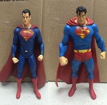 Classic TV Series 1966 Batman Superman 18cm 3 Style Cartoon Anime Toy PVC Figure Model Gift
