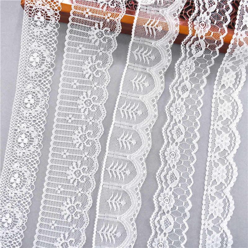 10 ярдов другие 38 видов цвета белая кружевная лента широкая французская африканская кружевная ткань для творчества ремесла/свадьба/кружевная лента для заворачивания подарка
