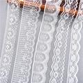 10 ярдов другие 38 видов цветов белая кружевная лента широкая французская африканская кружевная ткань DIY ремесла/свадьба/кружевная лента под...