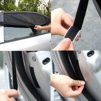 Sun Shades 2x Car Rear Window UV Mesh Blind Kids Children Sunshade Blocker Black M Jul16