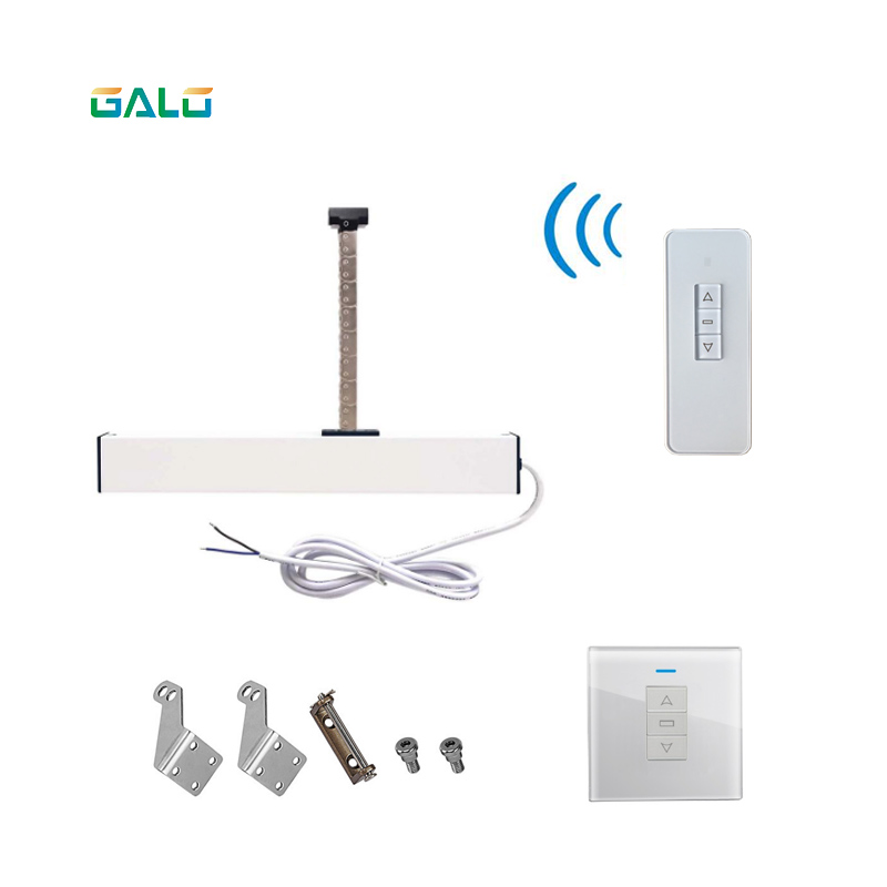 Image 5 - Smart Home electric chain window opener 300mm extend Opener (remote control+receiver are included) For Small skylight-in Electric Door Control System from Security & Protection