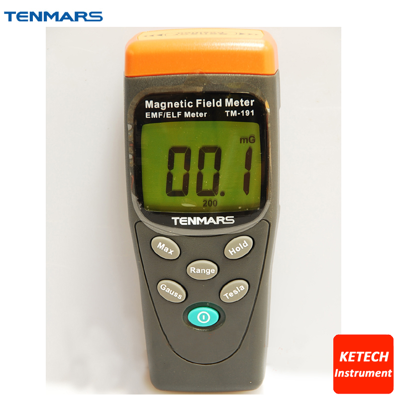 TM191 High Quality Magnetic Field Gauss Meter 30Hz-300Hz