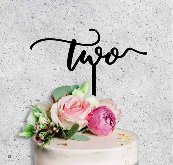 2nd birthday cake topper birthday Gold glitter cake topper,first birthday happy birthday Custom cake topper,Two cake topper