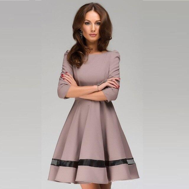 Лето Dress desigual vestidos de fiesta largos elegantes 2016 женская мода сплошной цвет шею платья вечер dress