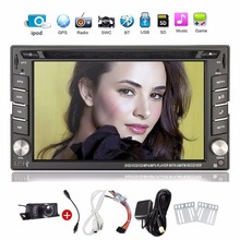 Car Electronic 2 din Car DVD Player GPS Navigation 6.2inch 2din Universal Car Radio In Dash Bluetooth Stereo Video SWC Free Map