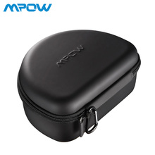 Mpow Headphones Carrying Bag Case For MPBH059 036 Wireless Headphones Cash Cables Cards Keys EVA+PU+Velet Portable Case Bags(China)