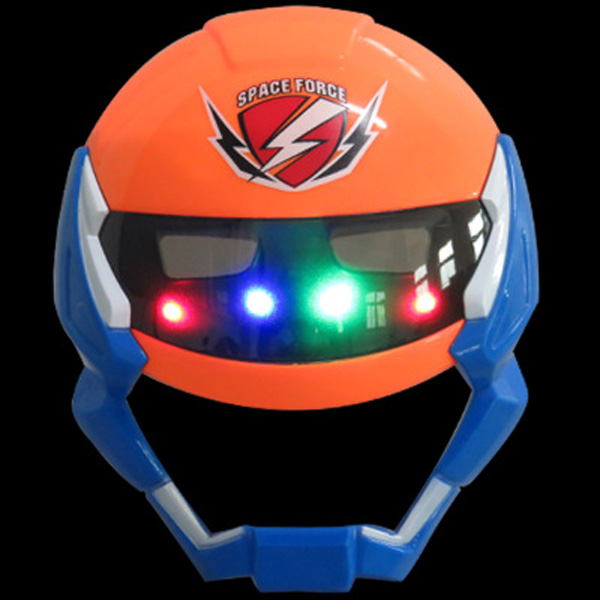 New Quality Cosplay Space Marines Glowing Mask Eyes Makeup Toy For Kids Boys