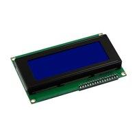 Межсоединений интегральных схем/I2C/TWI Серийный ЖК 2004 20x4 экран дисплея синий Подсветка для Arduino