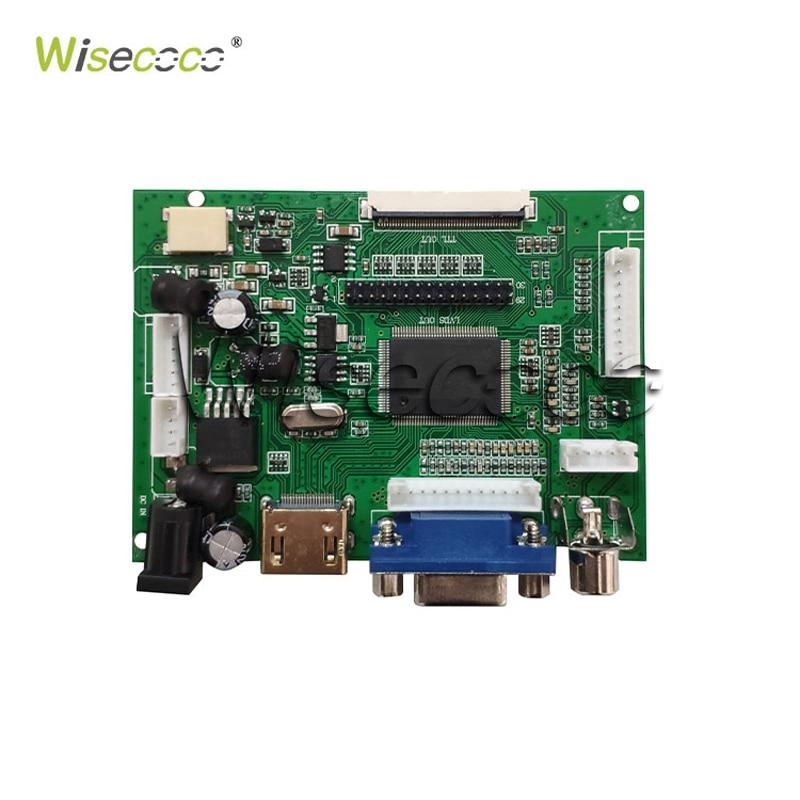 """מערכות ניווט Wisecoco 7.0"""" אינץ צג LCD פטל Pi מסך TFT LCD Monitor AT070TN90 92 94 + לוח הבקר TY2662-V1 Driver (3)"""