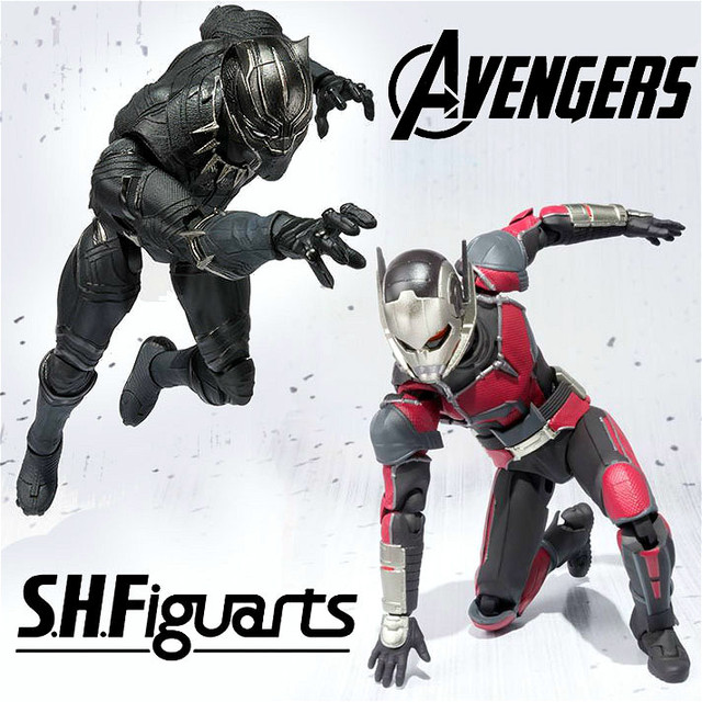 Shf Captain America Civil War Ant Man Black Panther Black Widow
