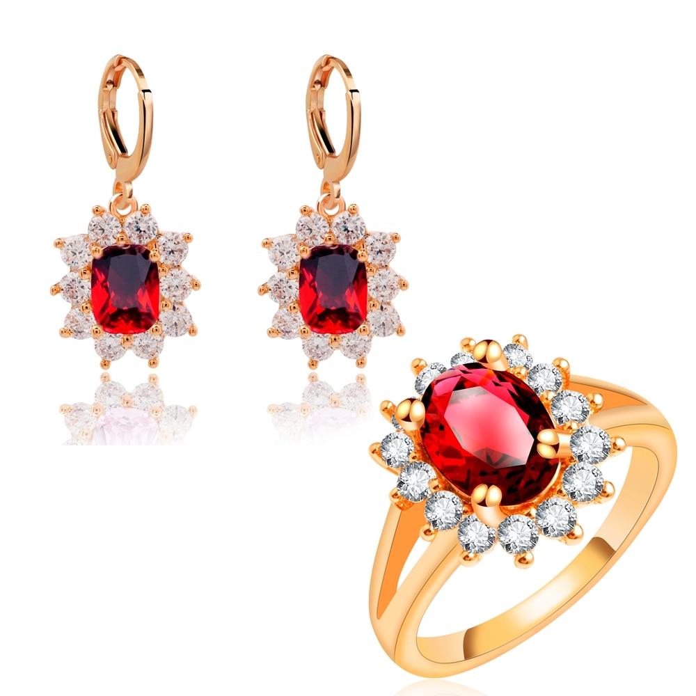 yunkingdom fashion flower wedding jewelry sets russia. Black Bedroom Furniture Sets. Home Design Ideas