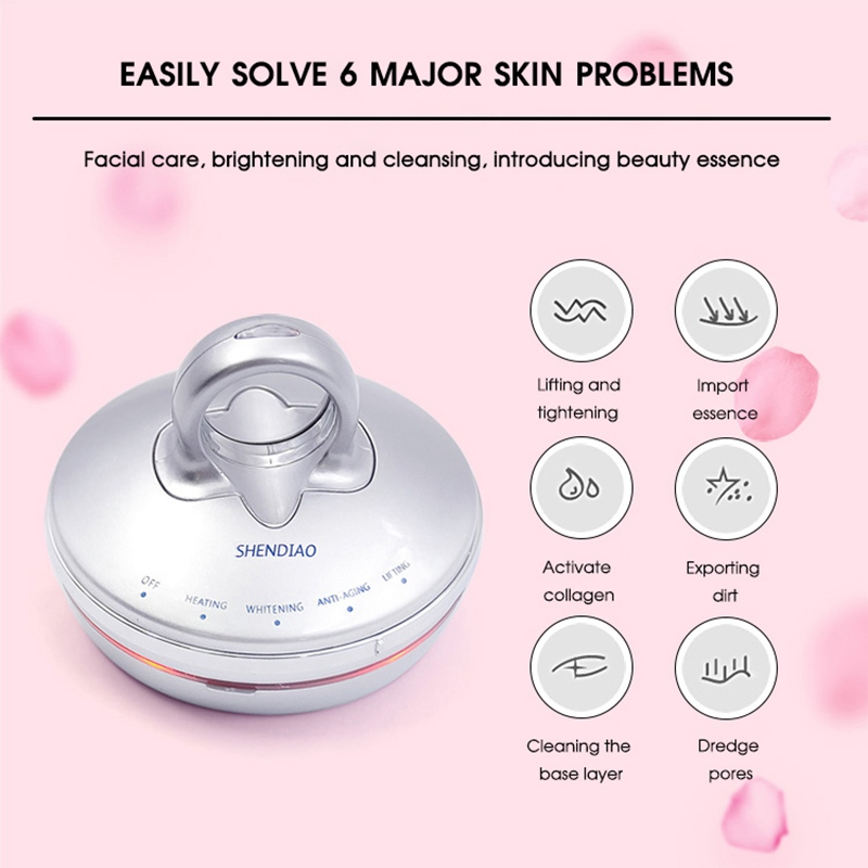 6in1 RF&EMS Radio Mesotherapy Electroporation Face Beauty Pen Radio Frequency LED Photon Face Skin Rejuvenation Remover Wrinkle6in1 RF&EMS Radio Mesotherapy Electroporation Face Beauty Pen Radio Frequency LED Photon Face Skin Rejuvenation Remover Wrinkle