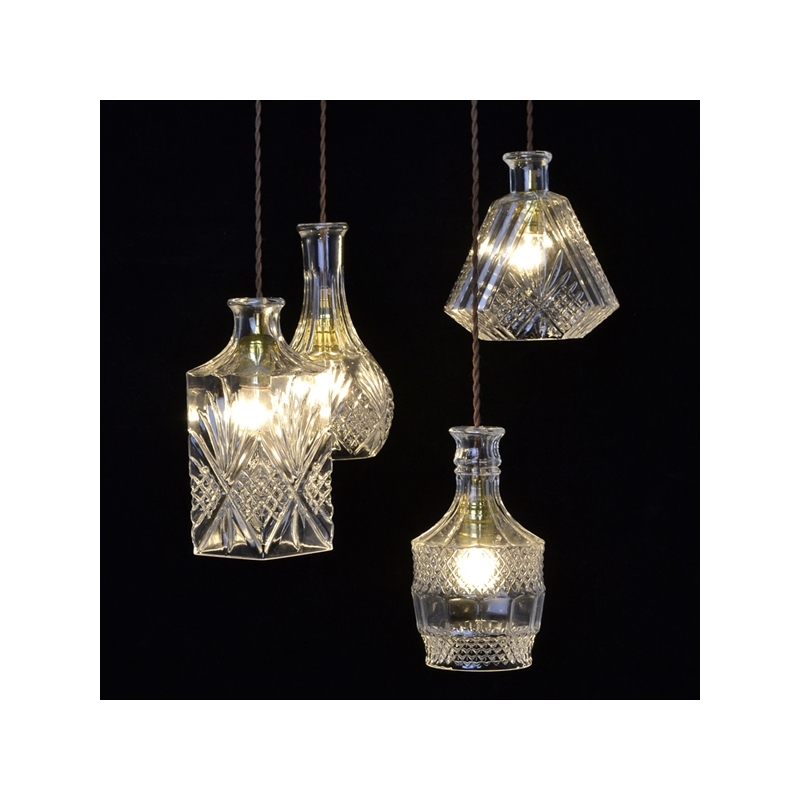 ФОТО Christmas Holiday Party Glass Pendant Lights 110v 220v Dining Room Lamp Lamparas Colgantes Living Room luminaria teto Night Lamp