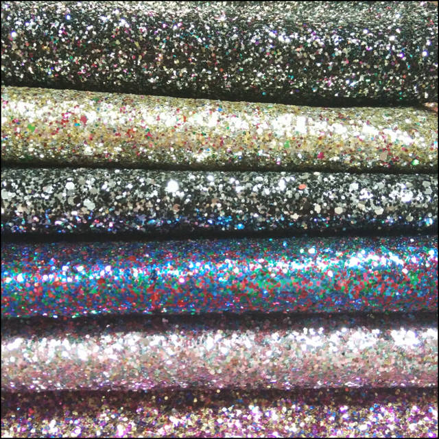 Online Shop New 3d Chunky Glitter Leather Wallpaper Chunky Black