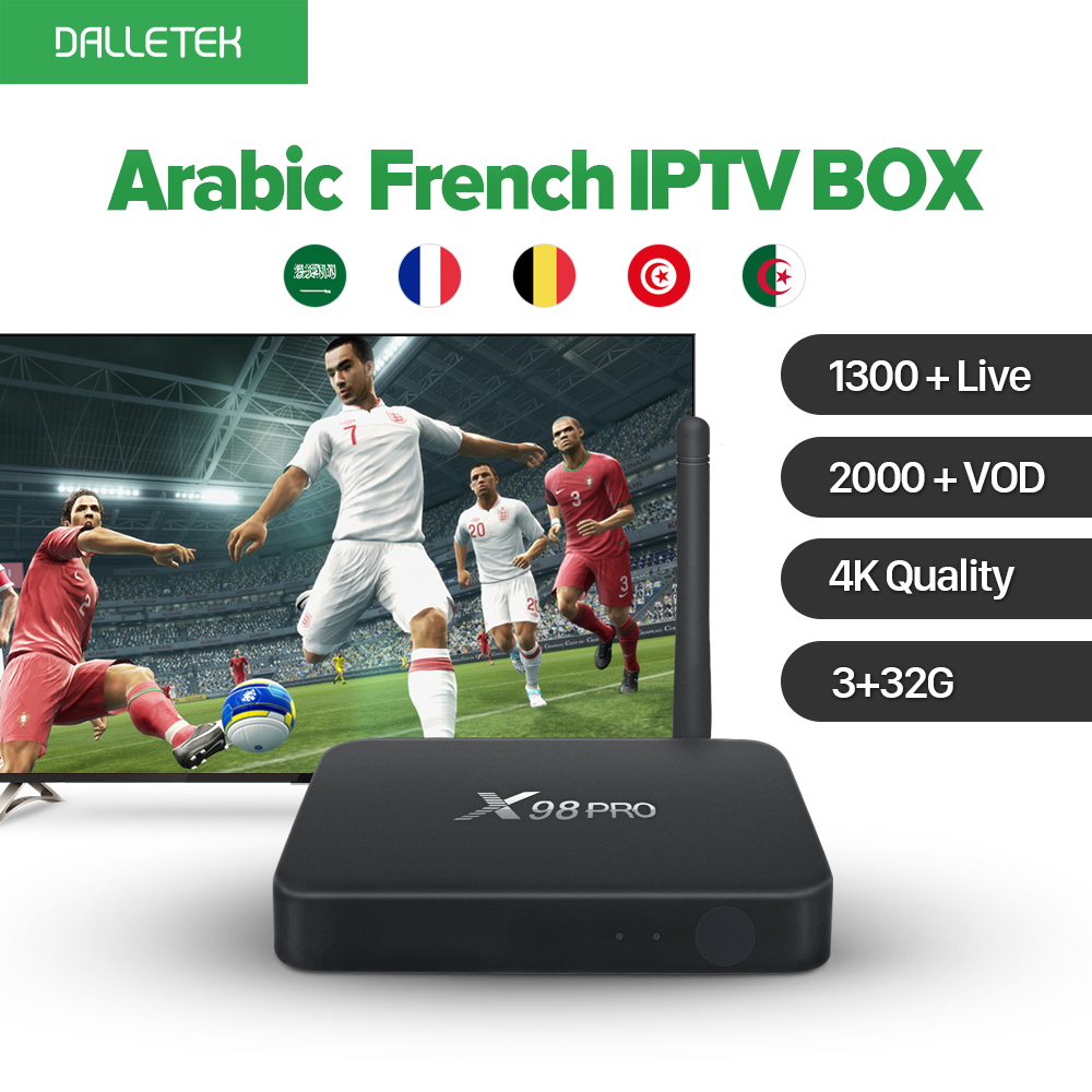 3G 32GB Amlogic S912 Octa Core Android Europe French Italia 1300 Live Channels Arabic IPTV Box 1 Year Subscription QHDTV IPTV french iptv h96 pro belgium netherlands luxembourg europe iptv iptv s912 octa core 3g ram 32g gb rom android 6 0 tv box