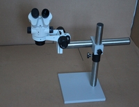 Free Shipping High Class Table Set Microscope for Diamond Setting 7 x 45 with LED Light