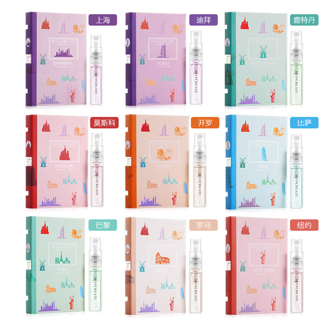 1Set MayCreat Original Portable Perfume Women Perfume Spray Fragrance and Deodorant Female Perfume Fragrances for Women Perfumes