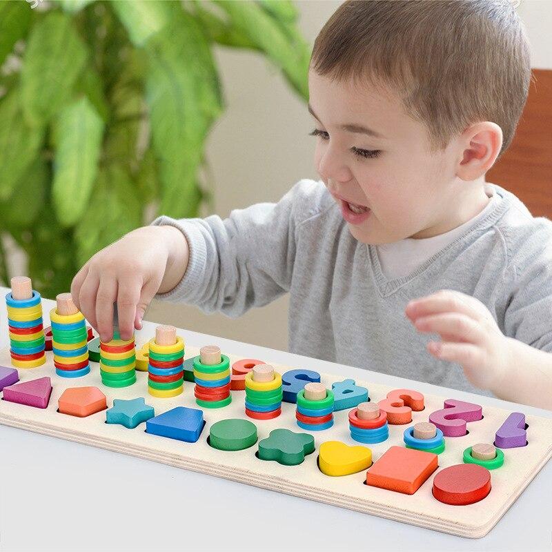 Children Wooden Montessori Juguetes Didacticos Materials ...