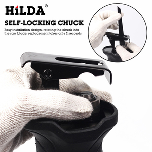 Image 3 - HILDA Electric Saw Reciprocating Saw for Wood Metal Plasitic Pipe Cutting Power Saw Tool with Saw Blades