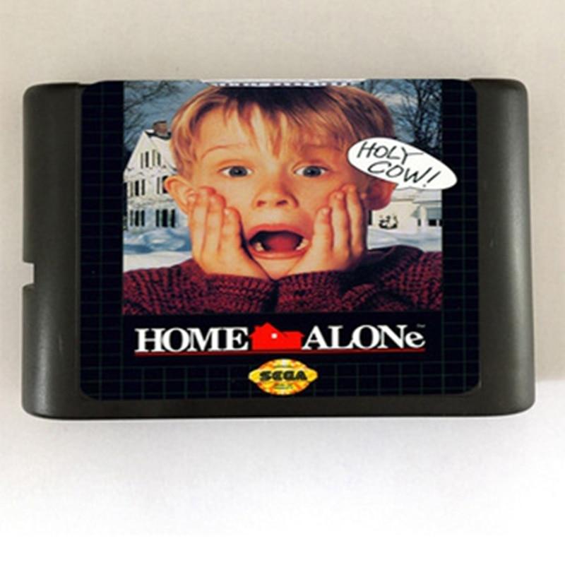 Home alone Game Cartridge Newest 16 bit Game Card For Sega Mega Drive / Genesis System
