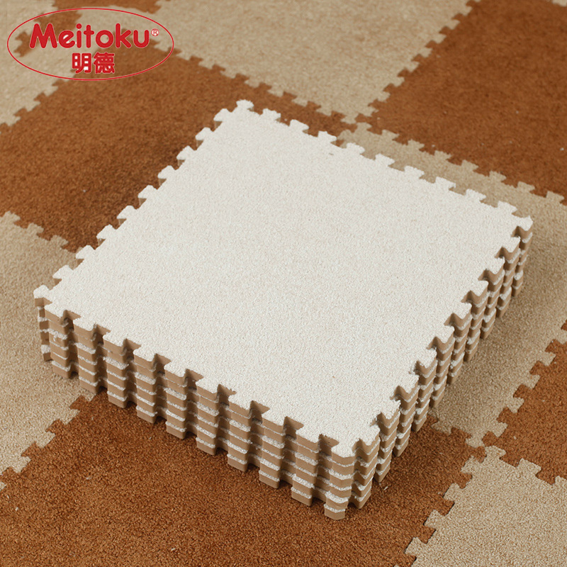 Meitoku-Soft-EVA-Foam-short-fur-puzzle-baby-play-mat9pcs-interlock-floor-mat-Exercise-matliving-room9pcslot-Each-30X30cm-2