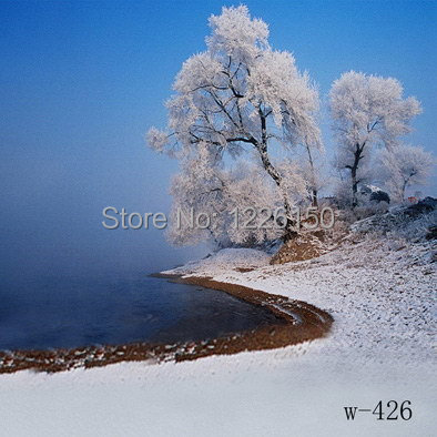 10ft*10ft vinyl photography backdrops photo studio photographic background Christmas tree holiday snow W426,christmas background