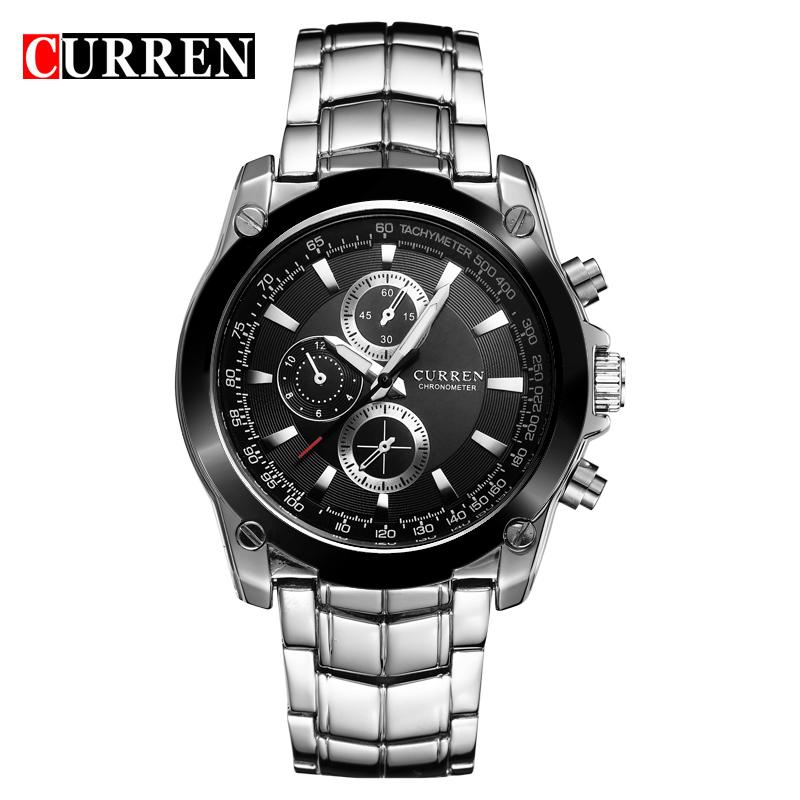 Prix pour Curren montres hommes marque de luxe montres casual montre à quartz montres relogio masculino