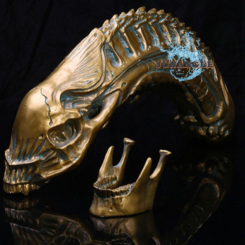 Aquarium En Forme de Crâne Modèle Résine Artisanat Taro Accessoires Personnalité Décoration De Noël Décoration de La Maison Accessoires de Cuisine