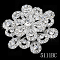 12pcs/lot Wholesale Bulk sale Bridal Crystal Brooch. 5H111 Wedding Jewelry Bridal Accessory Rhinestone Brooch Fashion Jewelry