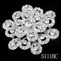 12pcs/lot Wholesale Bulk sale Bridal Crystal Brooch. 5H111 Wedding Jewelry Bridal Accessory Rhinestone Brooch Fashion Jewelry