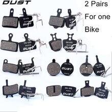 Полуметаллические велосипедные дисковые Тормозные колодки для
