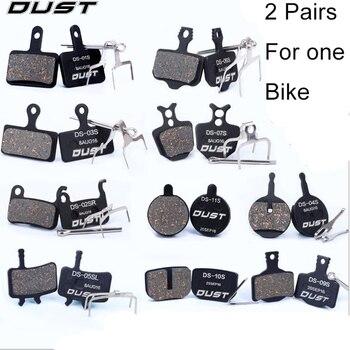 Semi-Metallic Bicycle Disc Brake Pads for Shimano Deore XT SLX/Saint/Hone for Sram Avid BB5 BB7 Elixir/Tektro Draco/Magura/Zoom5 shimano deore m590 лев пр 3x9ск тр оплетк