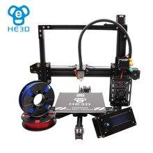 Автоматический уровень большой площади сборки HE3D reprap Высокая точность EI3 Diy 3D принтеры два рулона PLA нити для подарка